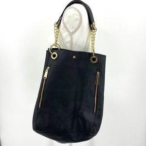 STEVE MADDEN  Black Shoulder Bag - Large